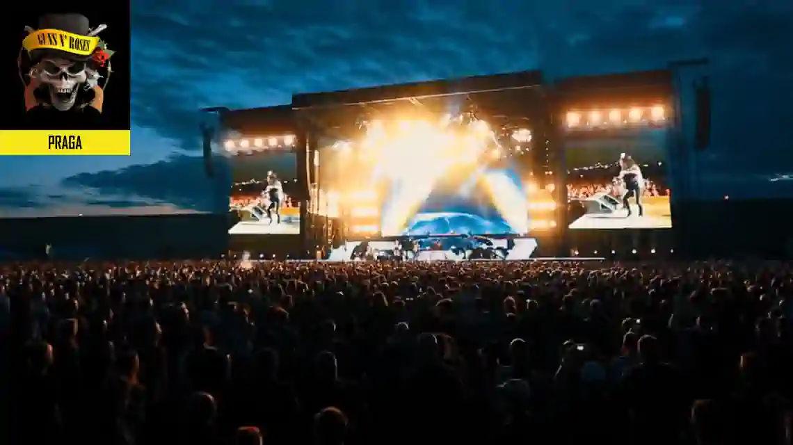 Guns N Roses Praga koncert