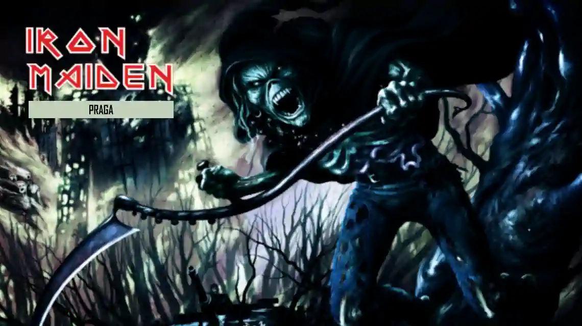 Iron Maiden Praga koncert