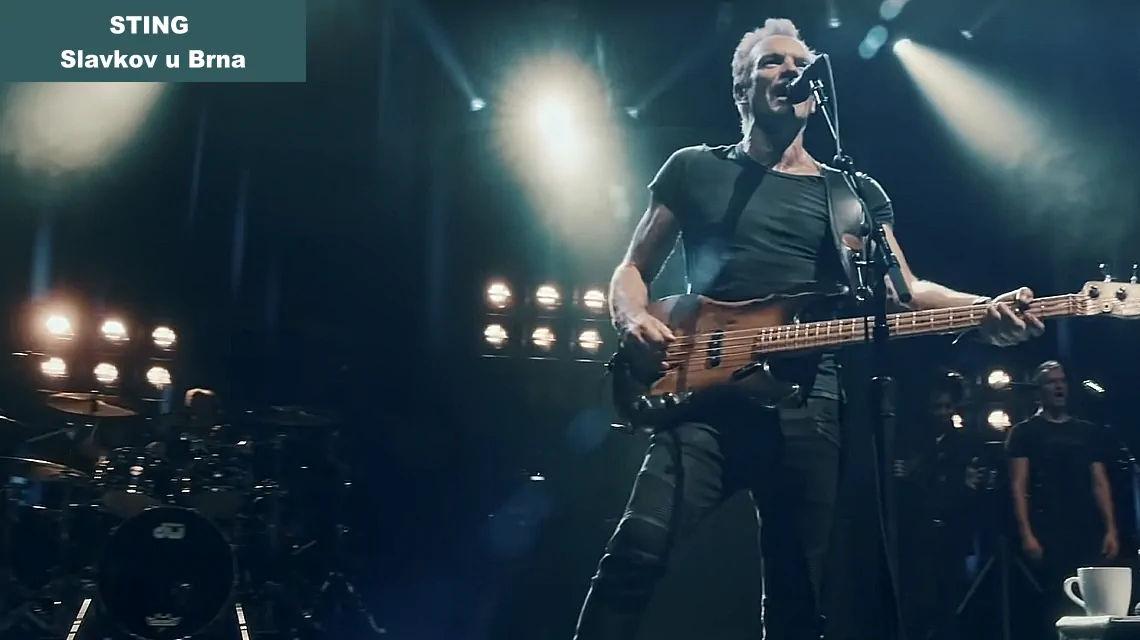 Sting Slavkov u Brna koncert