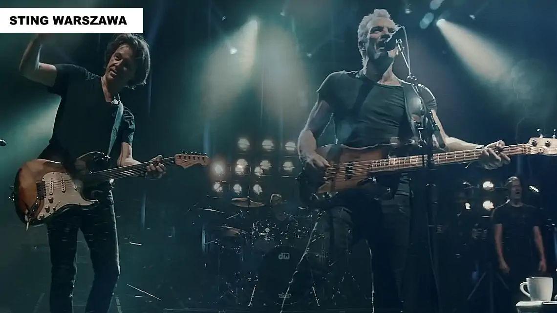 Sting Warszawa koncert